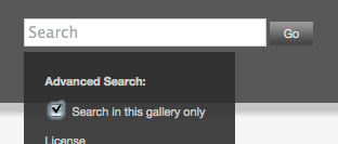 Ingallery search